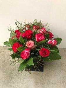 sprieterig rozenboeket